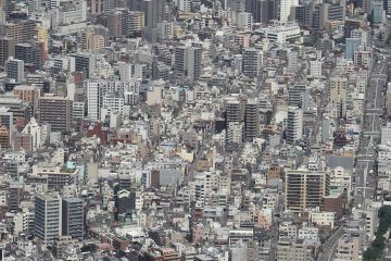 Japan City View from Skytree