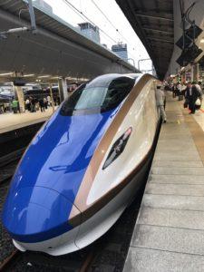 Hokuriku Shinkansen in Tokyo Station
