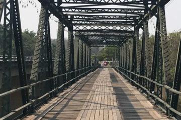 Bridge in Pai, Thailand
